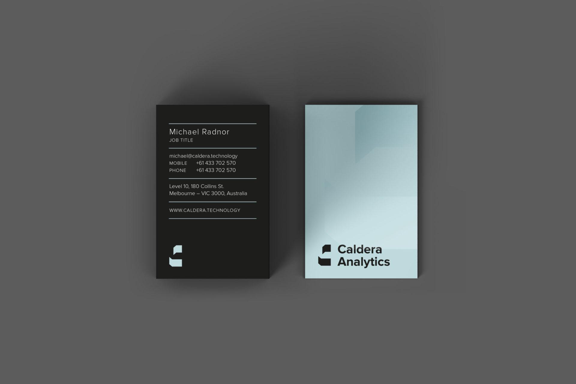 Caldera Analytics
